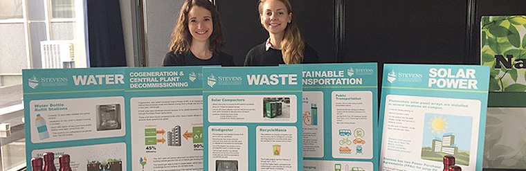 Gotham 360 Attends An Earth Day Fair At Stevens Institute Of Technology To Educate Students On The College's Ongoing Sustainability Initiatives