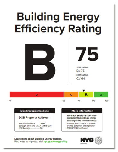 NYC Building Energy Grades