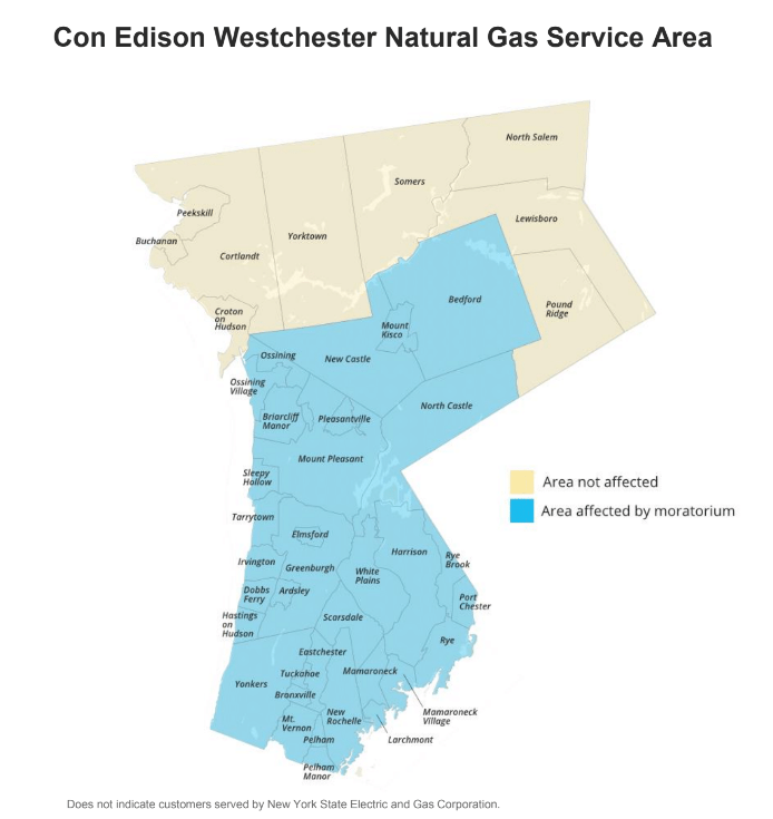 I Am Affected by the Westchester gas moratorium. What Can I Do?