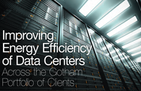 Improving Energy Efficiency of Data Centers Across the Gotham Portfolio of Clients