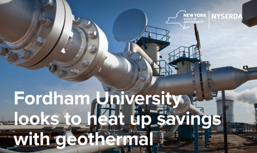 Fordham University Looks to Heat Up Savings With Geothermal