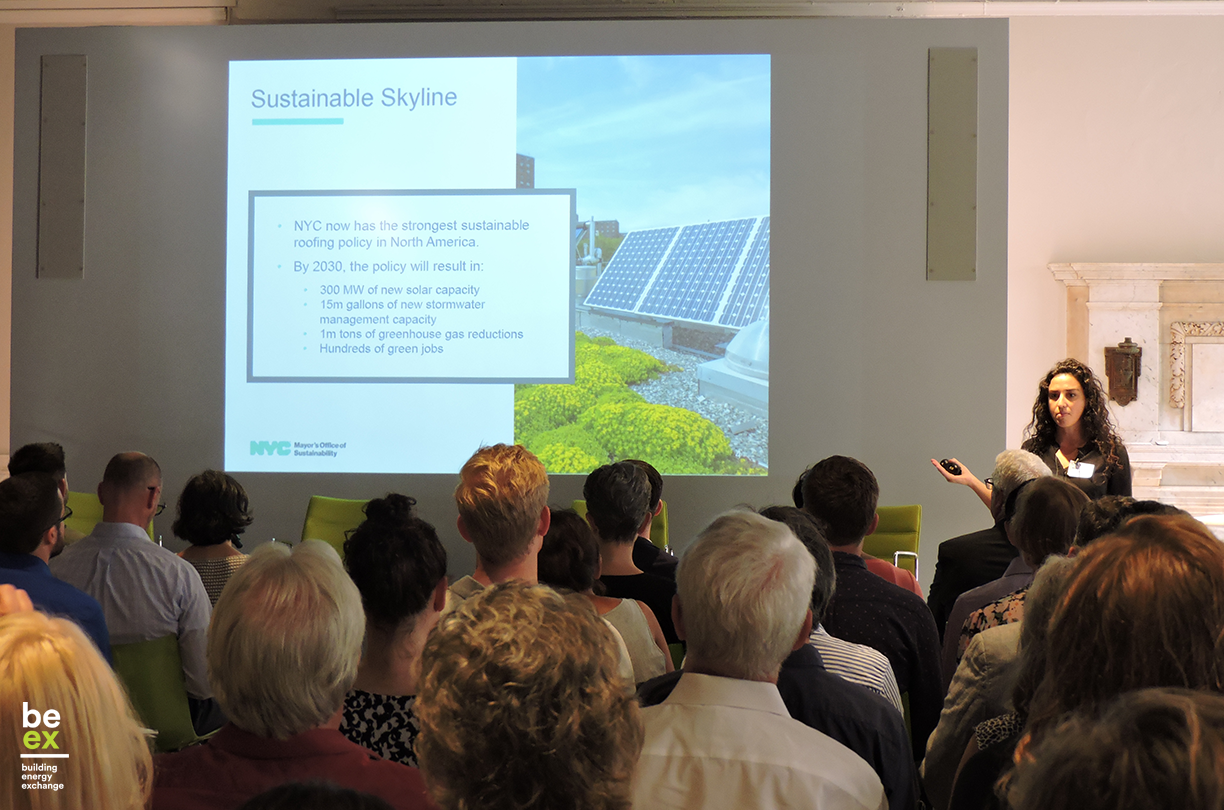 BE-Ex Climate Mobilization Act Series: Solar & Green Roofs