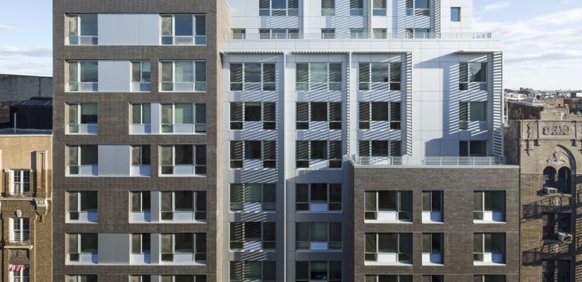 LEED Platinum Certified, Affordable Urban Midrise